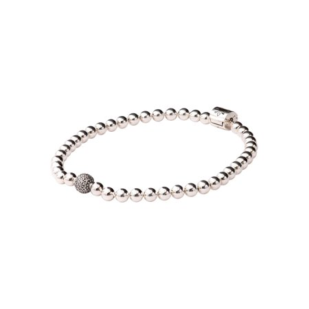 PANDORA Beads & Pave Bracelet Size 19 - 598342CZ-19