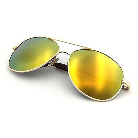 2339d3e160de4 J+S Premium Military Style Classic Aviator Sunglasses