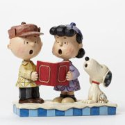 Peanuts by Jim Shore Snoopy and Charlie Brown by Enesco