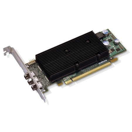 Matrox M9138-E1024LAF Matrox M9138 Graphics Card - Matrox M9138 - 1GB DDR2 SDRAM - PCI Express x16 - Mini