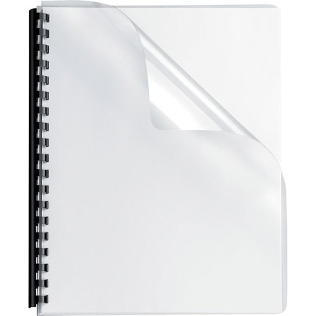 Fellowes, FEL52309, Clear Round Corner Presentation Covers, 25 / Pack, Clear