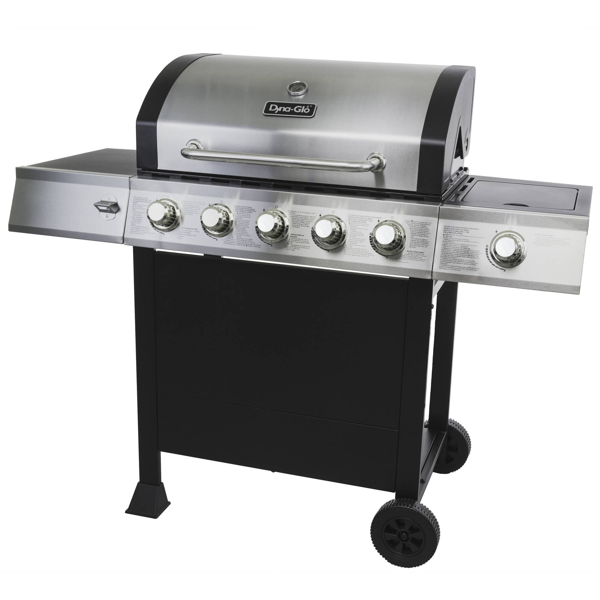 Dyna-Glo DGB515SDP-D 5-Burner Open Cart Propane Gas Grill by GHP Group, Inc.