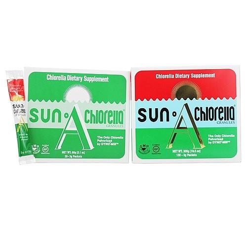 Sun Chlorella Granules 3g Sun Chlorella 100 Packet