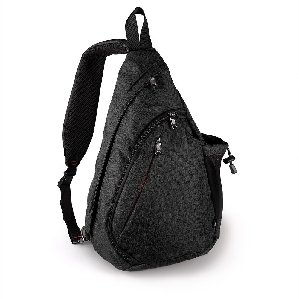 OutdoorMaster Sling Bag - Small Crossbody Street/Travel Backpack for Men & Women