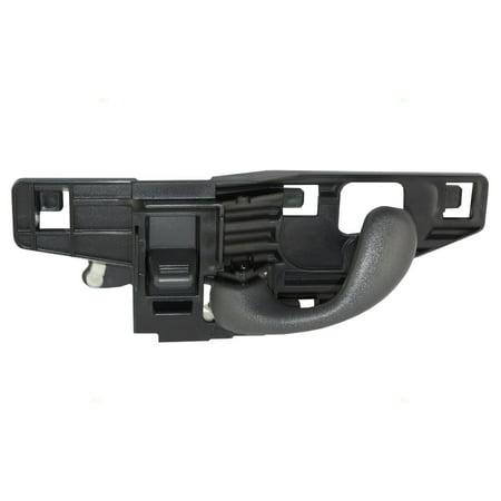 - Drivers Front Inside Inner Door Handle Replacement for Chevrolet GMC Isuzu Pickup Truck 15746182