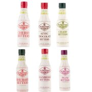 Fee Brothers Bar Cocktail Bitters - Series II - Set of 6