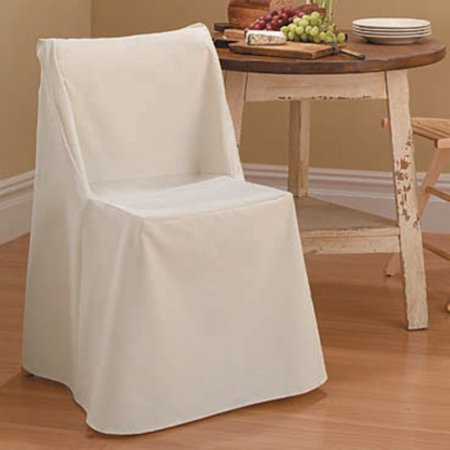 Sure Fit Cotton Duck Folding Dining Chair