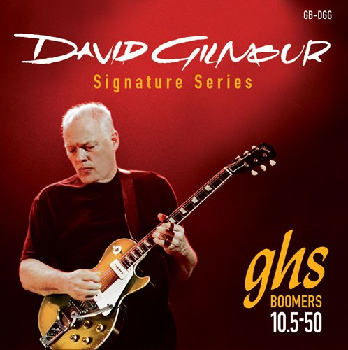 GHS David Gilmour Signature Red Set Guitar by GHS
