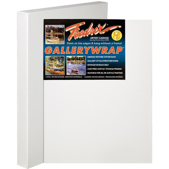 Fredrix T5083 36 inch x 60 inch Gallerywrap Stretched Canvas Pack Of 3