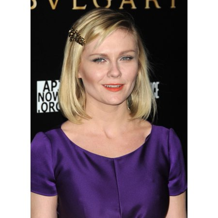 Kirsten Dunst At Arrivals For Bvlgari Save The Children And Artists For Peace And Justice Benefit Canvas Art     16 X 20