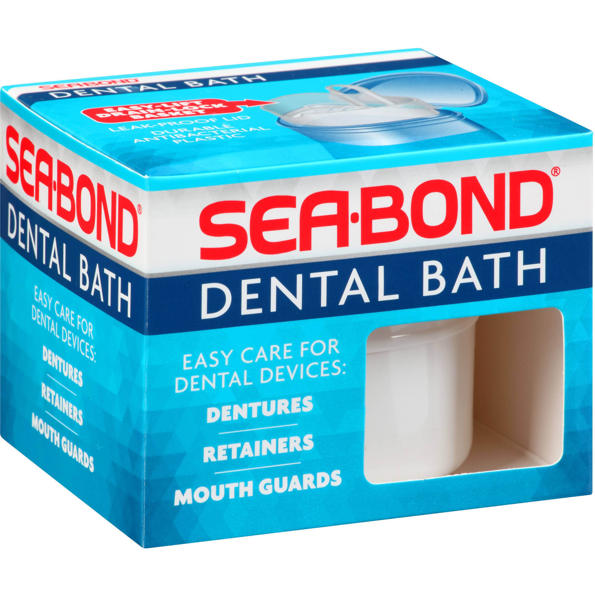 Sea-Bond Dental Bath, 1.0 CT