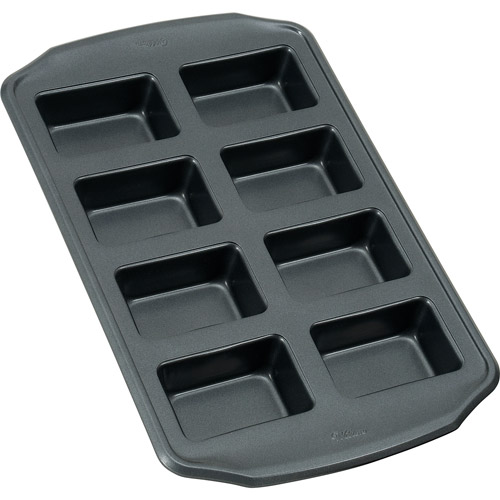Wilton Bake It Better 8 Mold Mini Loaf Pan Walmart Com