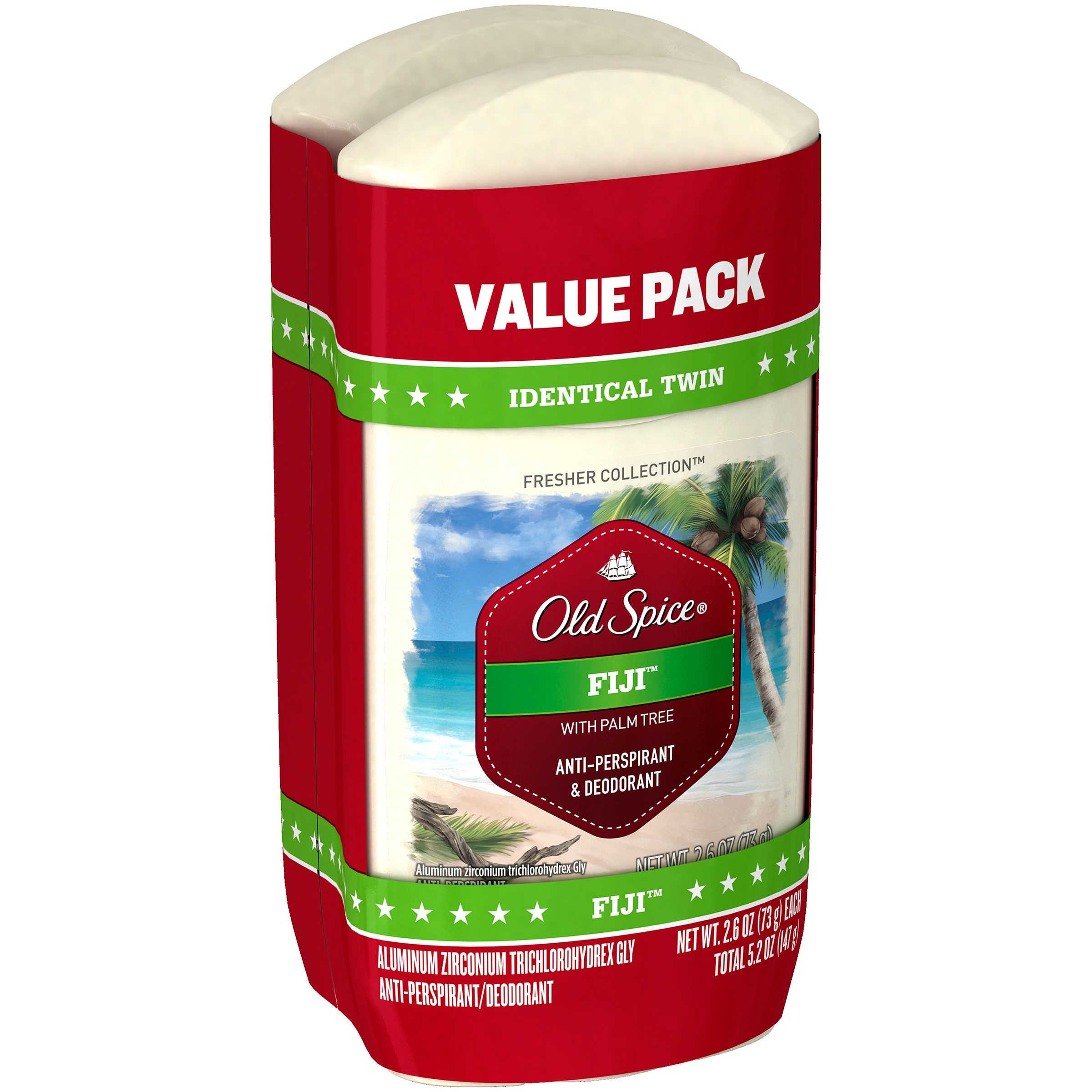 Old Spice® Fresher Collection™ Fiji™ Anti-Perspirant/Deodorant 2-2.6 oz. Sticks