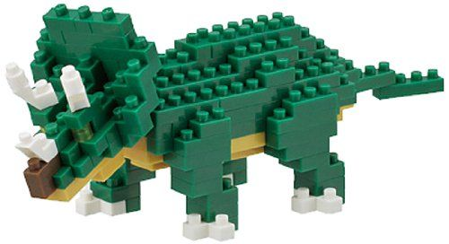 Triceratops Mini Building Set by Nanoblock (NBC112) by nanoblock