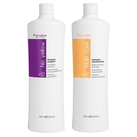 Fanola No Yellow Shampoo   Nutri Care Conditioner  1000 Ml