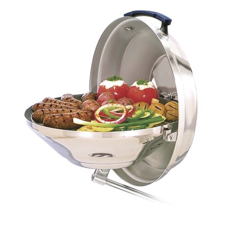 Magma Marine Stainless Steel Kettle 2 Charcoal Grill
