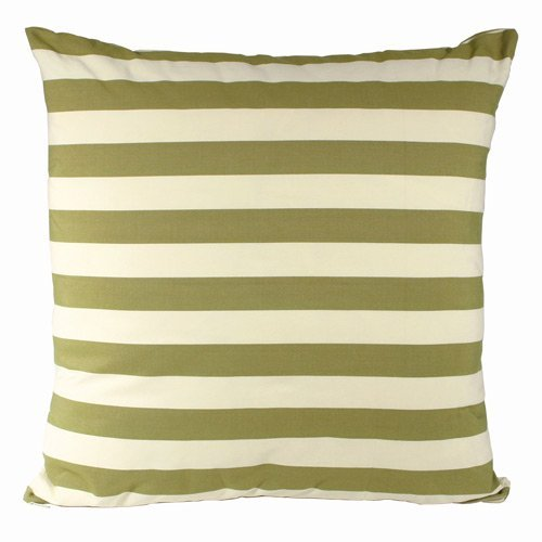 Magnolia Casual 24 x 24 Summer Palms Stripe Euro Pillow