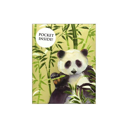 Panda Notepad - Punch Studio Note Pad Inside Pocket Panda