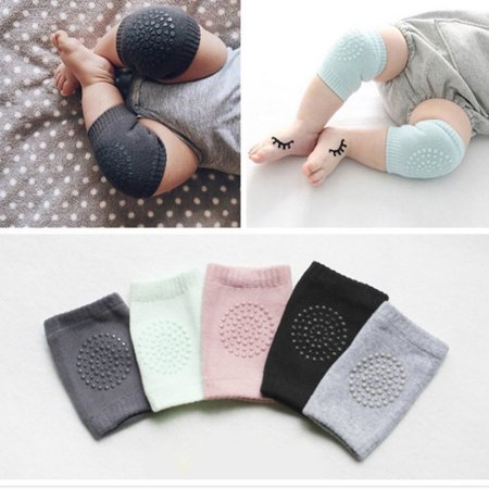 2 Pair Popular Infant Toddler Baby Knee Pad Crawling Safety Protector Multi