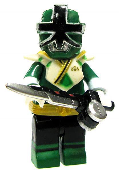 Mega Bloks Power Rangers Super Samurai Green Ranger Super Mega Mode Minifigure by