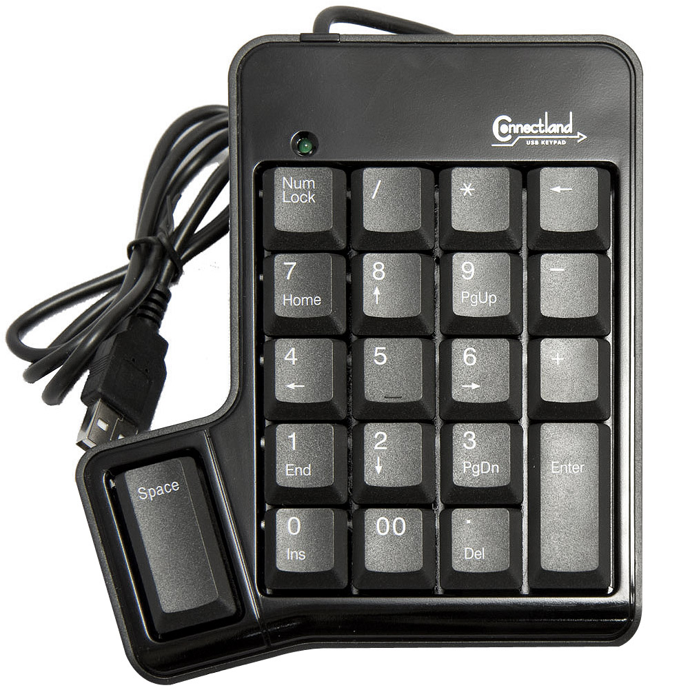 Connectland CL-USB-NUMSPC 19-Key USB Keypad