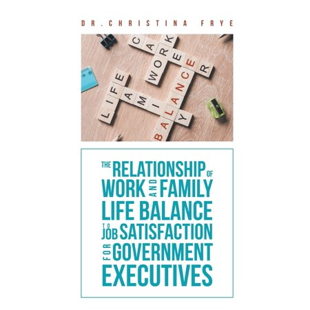 The Relationship of Work and Family Life Balance to Job Satisfaction for Government