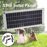15/20/25/30/40W Flexible Semi Solar Panel 12V/5V Portable Controller Controlle Polysilicon /Monocrystalline Silicon Off Grid Kit Waterproof For Car Battery Phone RV Boat Outdoor