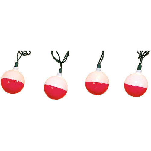 Rivers Edge Products 10-Light Fishing Bobbers Party Light Set