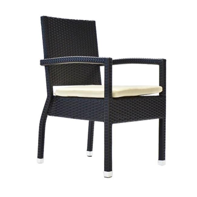 Bienal CR051 Venice Deep Seating Accent Garden Dining Chair