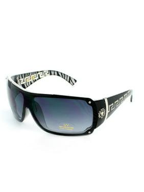 deb661a72d3 Product Image (3 Pack) KHAN Sunglasses Wrap 5178 Silver