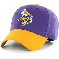 Men's Fan Favorite Purple/Gold Minnesota Vikings Two-Tone Adjustable Hat - OSFA