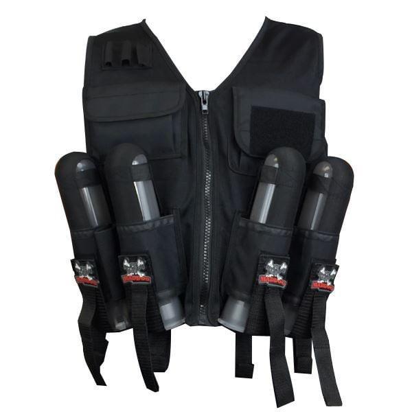 Maddog Lightweight Paintball Sport Vest - Black