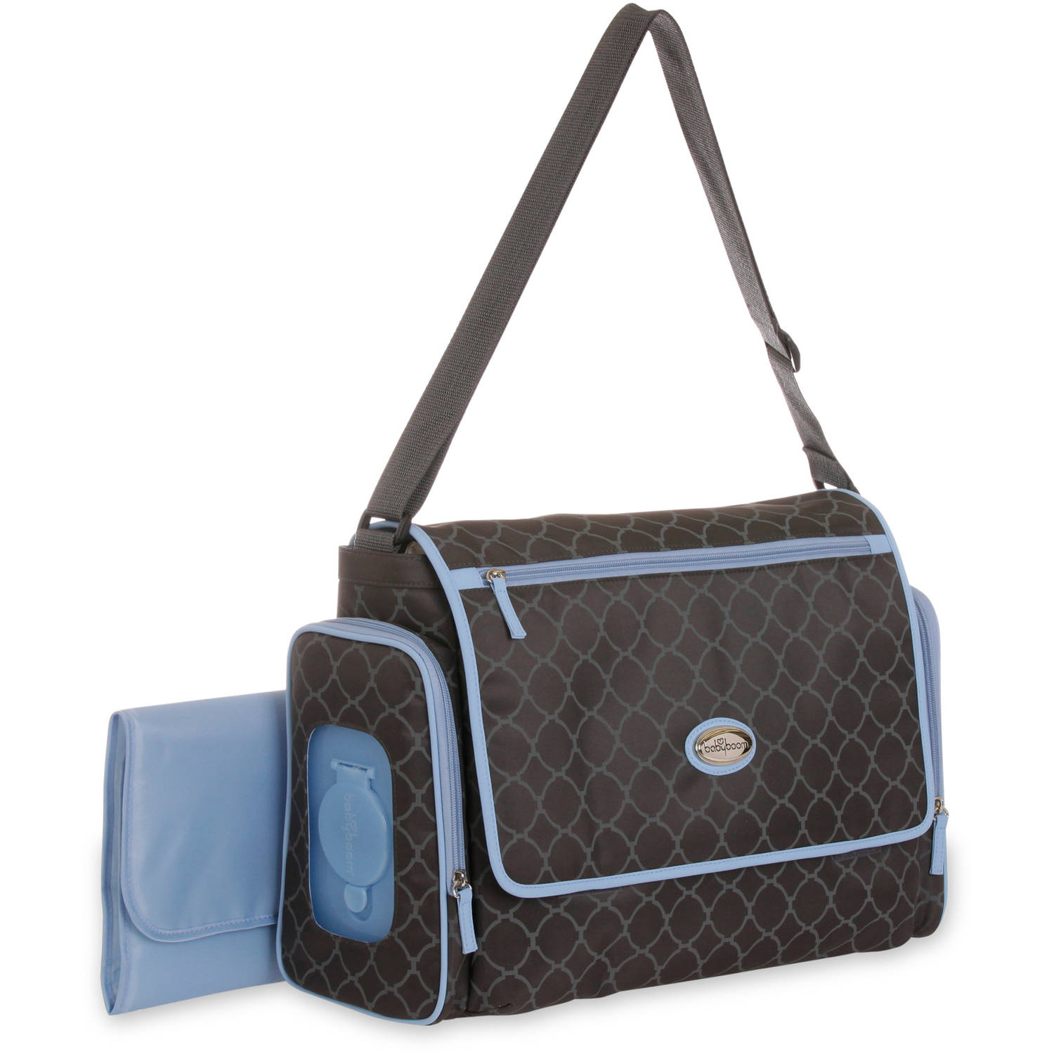 Baby Boom Places and Spaces Messenger Diaper Bag