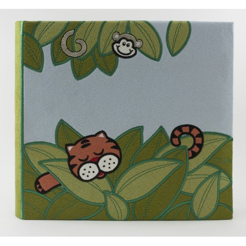 Fetco Home Decor Baby 'Wild Things Jungle Animals' Painting Print