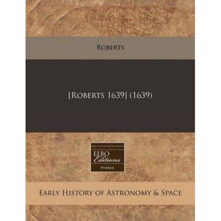Roberts 1639   1639