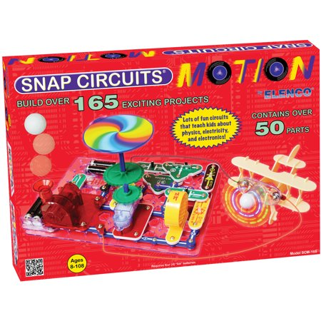 Elenco Snap Circuits Motion Kit - Snap Circuit Lights