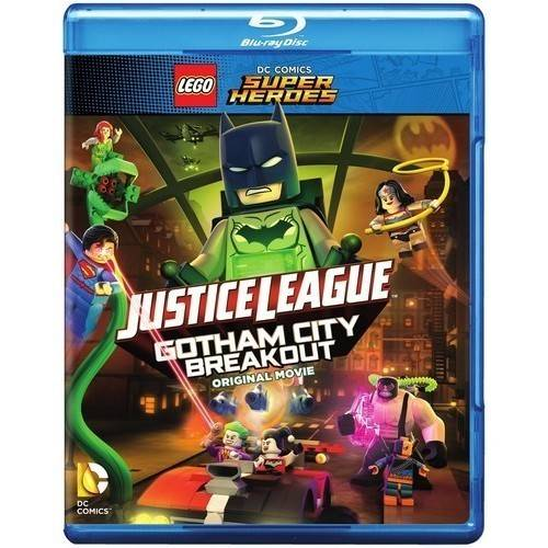 LEGO DC Comics Super Heroes: Justice League - Gotham City Breakout Original Movie (Blu-ray + DVD + Digital HD With UltraViolet + Limited Edition LEGO Minifigure)