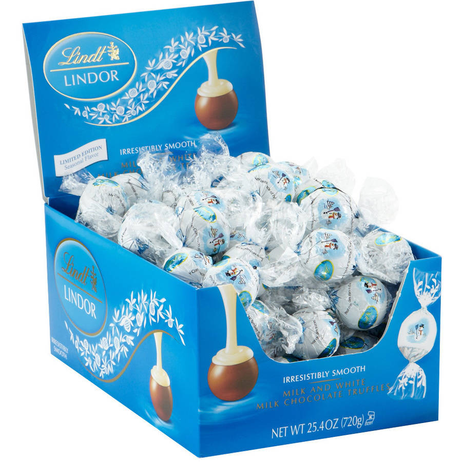 Lindt Lindor Snowman Chocolate Truffles, 25.4 oz by Lindt & Sprungli