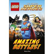 LEGO® DC Comics Super Heroes: Amazing Battles (DK Readers Level 2) (Hardcover)