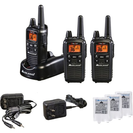 Midland Walkie Talkie >> Midland Lxt600 Extended Range Walkie Talkies 3 Pack