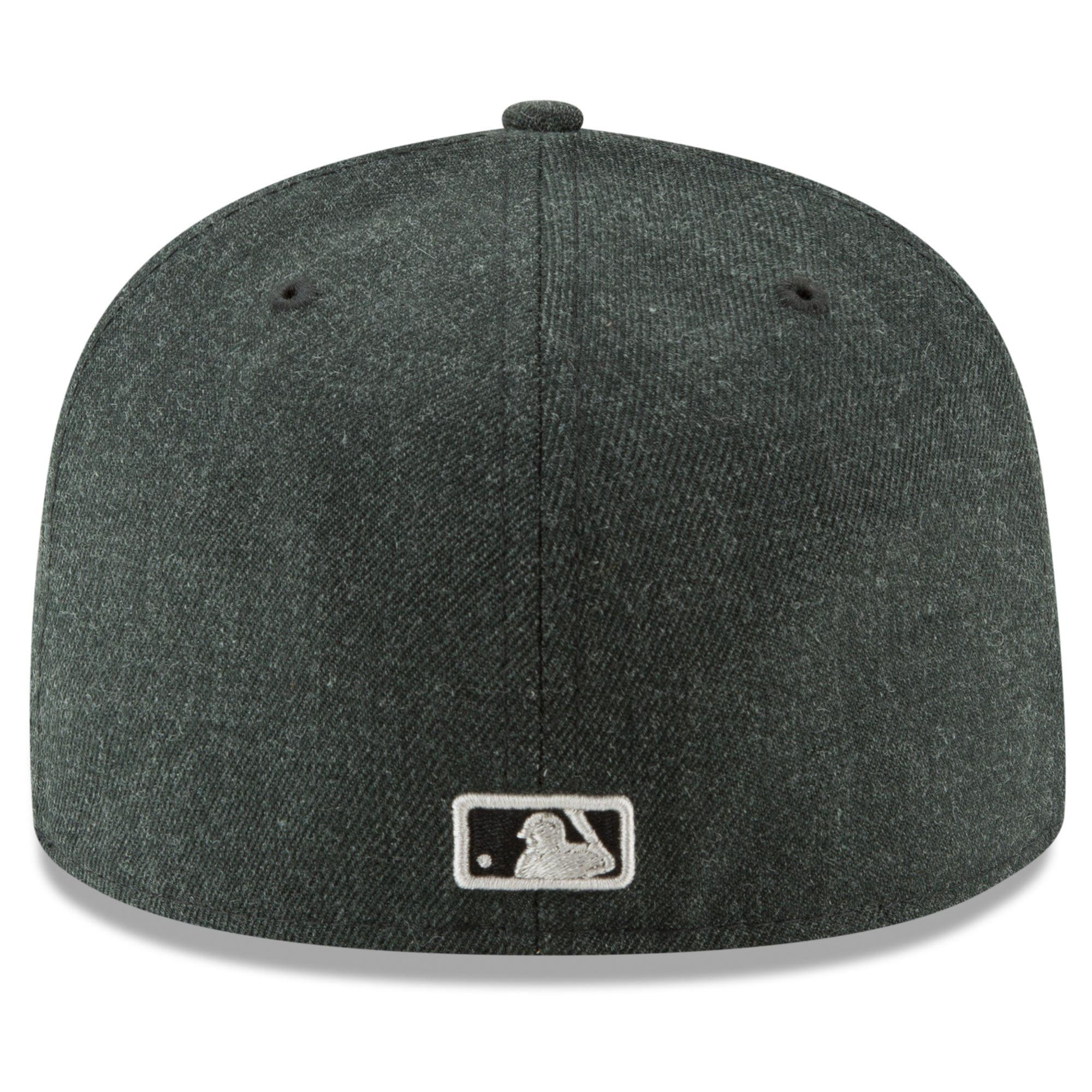 big sale 58a40 d2eae Detroit Tigers New Era Bold 59FIFTY Fitted Hat - Heathered Black -  Walmart.com