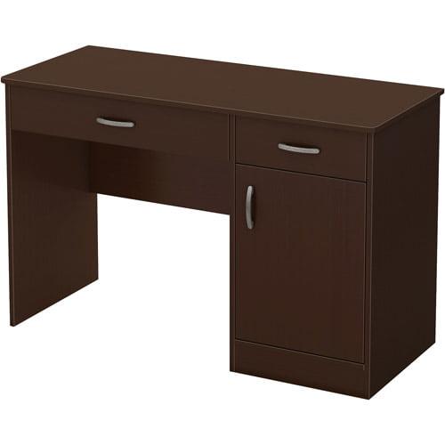 office furniture desk vintage chocolate varnished. South Shore Smart Basics Small Work Desk, Multiple Finishes - Walmart.com Office Furniture Desk Vintage Chocolate Varnished E
