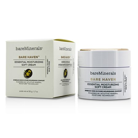BareMinerals - Bare Haven Essential Moisturizing Soft Cream - Normal To Dry Skin Types -50g/1.7oz
