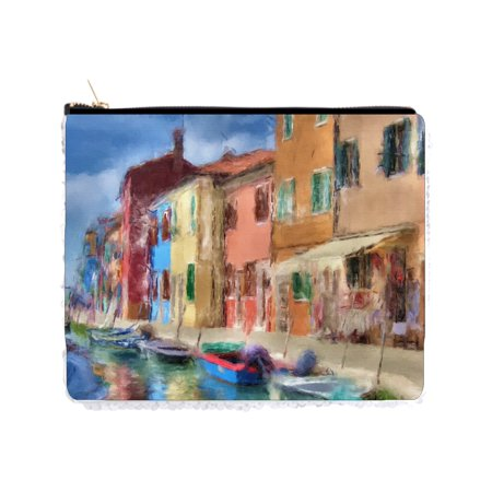 Venice Watercolor Painting - 2 Sided 6.5