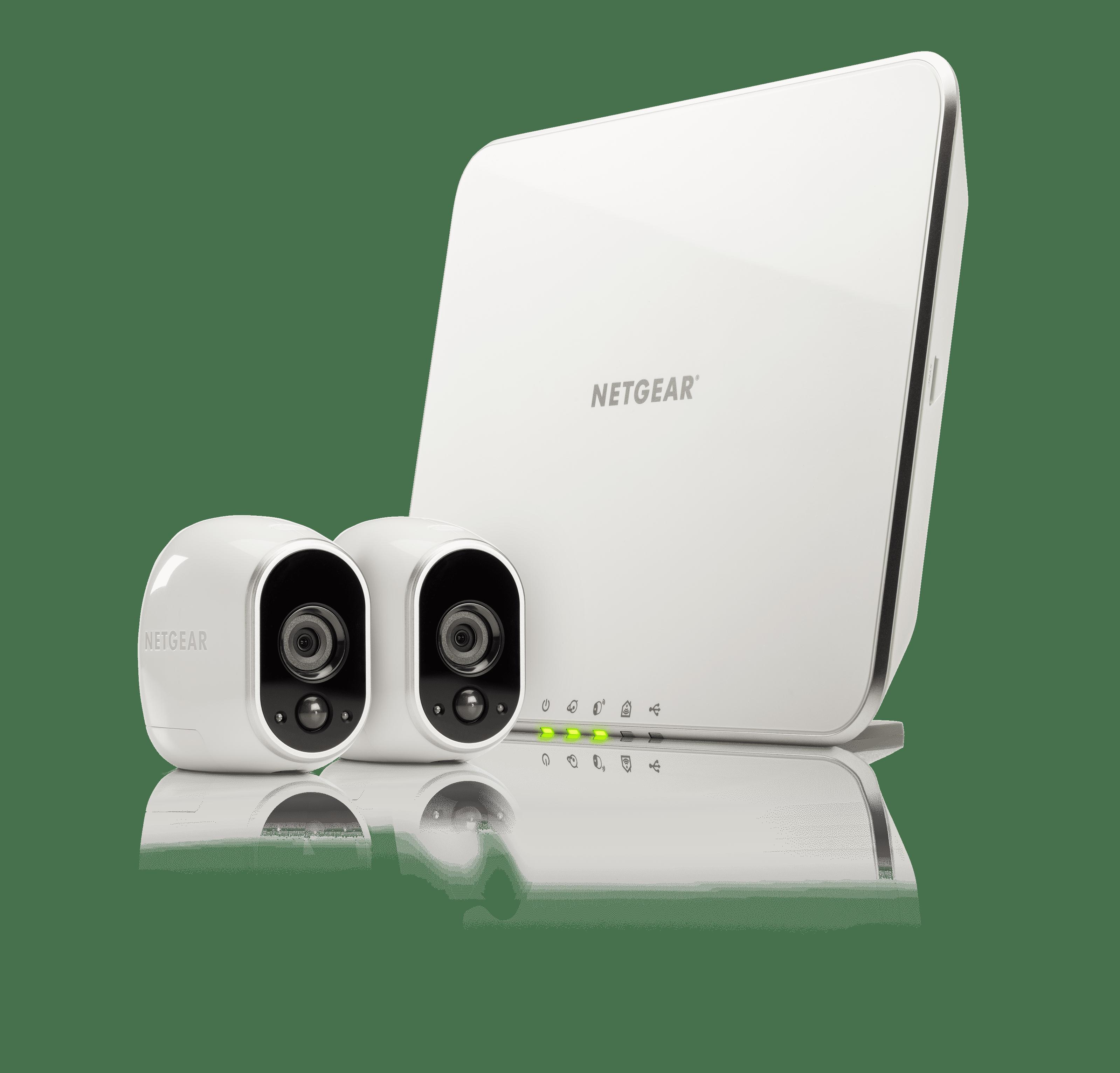 Arlo Security Camera System - 2 Wire-Free HD Cameras, Indoor/Outdoor, Night Vision (VMS3230)