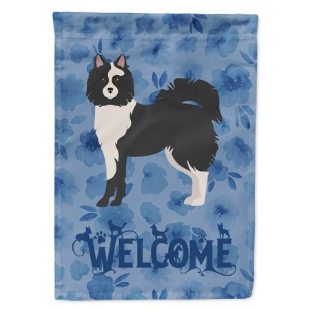 Image of Elo Dog #2 Welcome Flag Canvas House Size