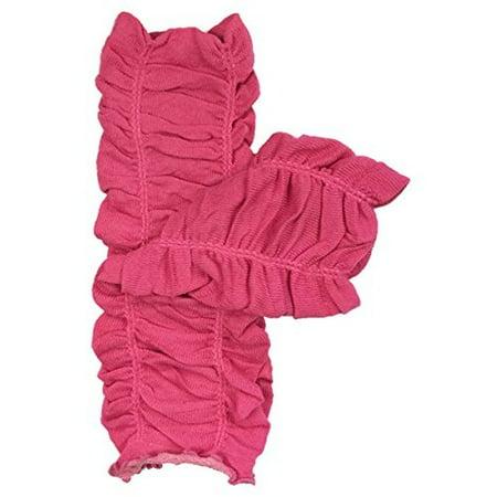 - ALLYDREW Solid Baby Leg Warmer & Solid Toddler Leg Warmer for Boys & Girls, Scrunch Hot Pink