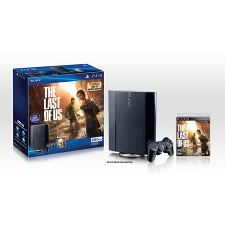 PS3 250GB The Last of Us Bundle (The Last Of Us Coming To Pc)