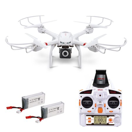 Quadcopter with Camera_X101 FPV Quadcopters 720P HD Wide_Angle Camera Live Video with Headless Mode, 2.4GHz 4 Chanel 6 Axis