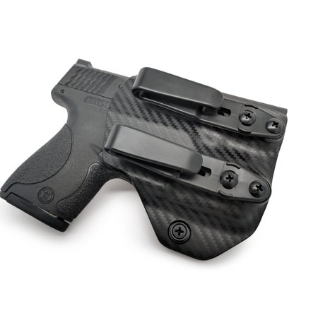 Concealment Express: S&W M&P SHIELD 9/40 w/ TLR-6 Tuckable Ambidextrous IWB KYDEX Holster ()